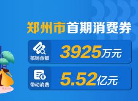 再发1.6亿元!郑州4月28日将发放第二期购物、餐饮消费券