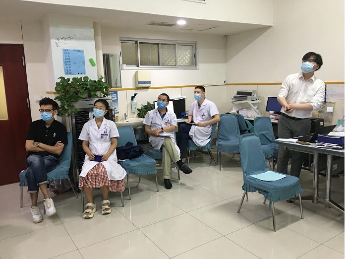 郑大二附院胸外科召开药物临床试验项目启动会