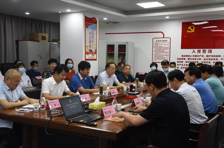 淅川县领导及县人民医院专家一行来郑大二附院交流合作