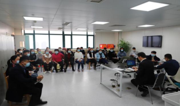郑大二附院医技第五党支部开展书记讲党课活动