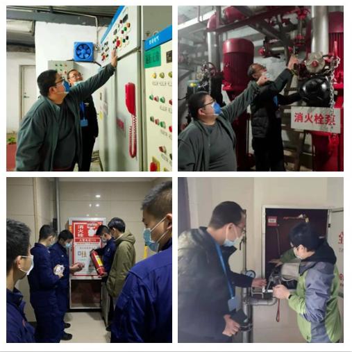 郑大二附院:消防设备大检修 确保应急稳运行