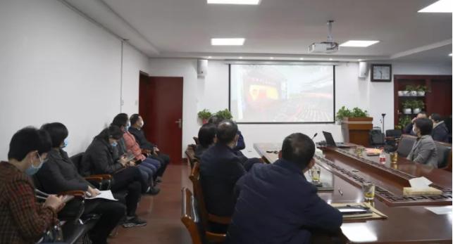 郑大二附院组织观看全国脱贫攻坚总结表彰大会