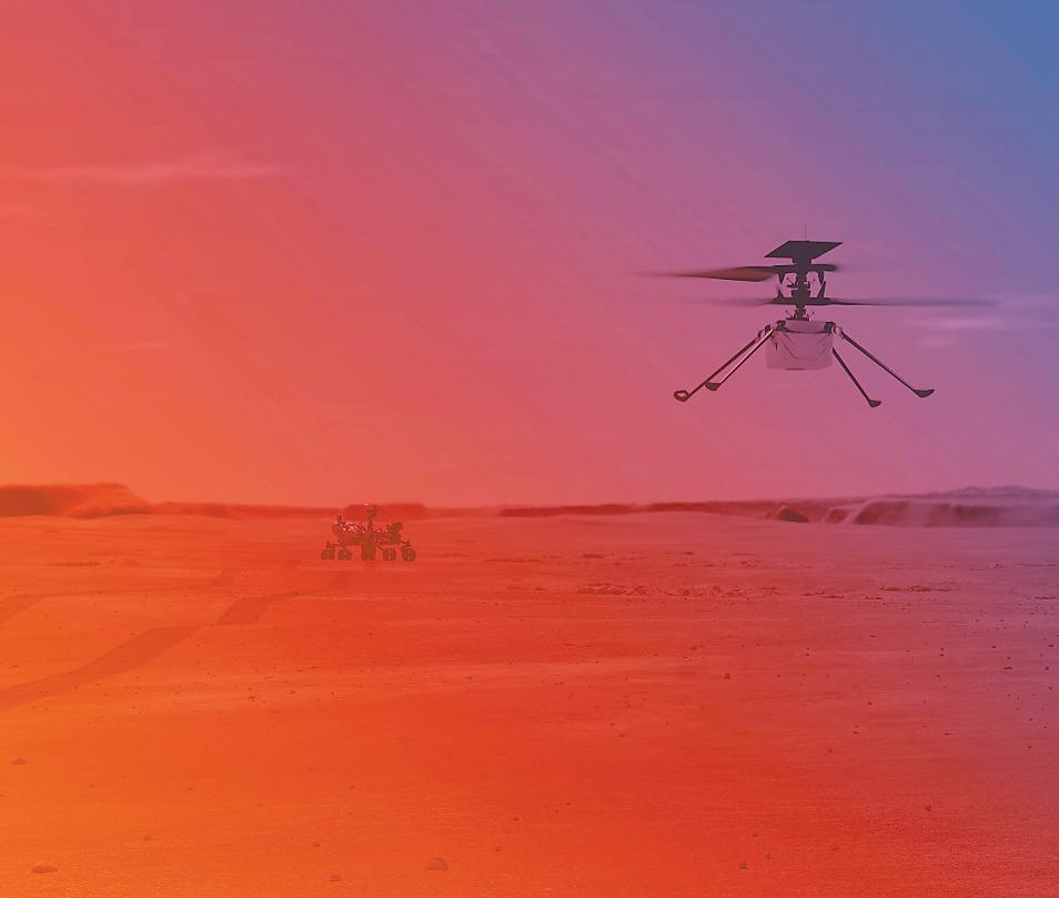 """美""""机智""""号直升机将在火星首次试飞,难度有多大?"""
