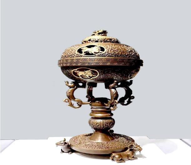河南华夏铜艺研究院再次进军国际金属艺术展