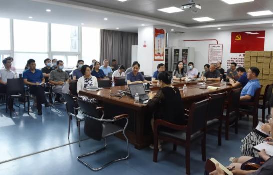 郑大二附院召开灾后重建工作会议