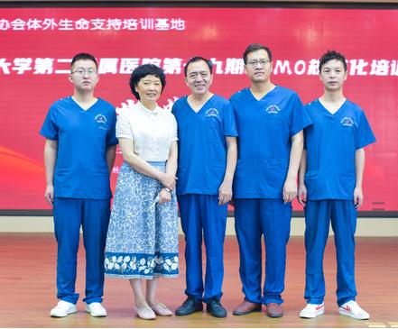 第十九期国家级ECMO培训班结业典礼在郑大二附院顺利举行