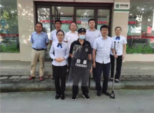 郸城联社开展2021年第三季度安全防范演练