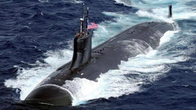 美国一核动力潜艇在南海国际水域撞上不明物体 多人受伤